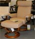 Stressless Orion Latte Batick Leather Chair