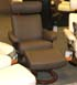 Stressless Orion Khaki Paloma Leather Chair
