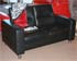 Stressless Wave 2 Seat Sofa in Paloma Black Leather