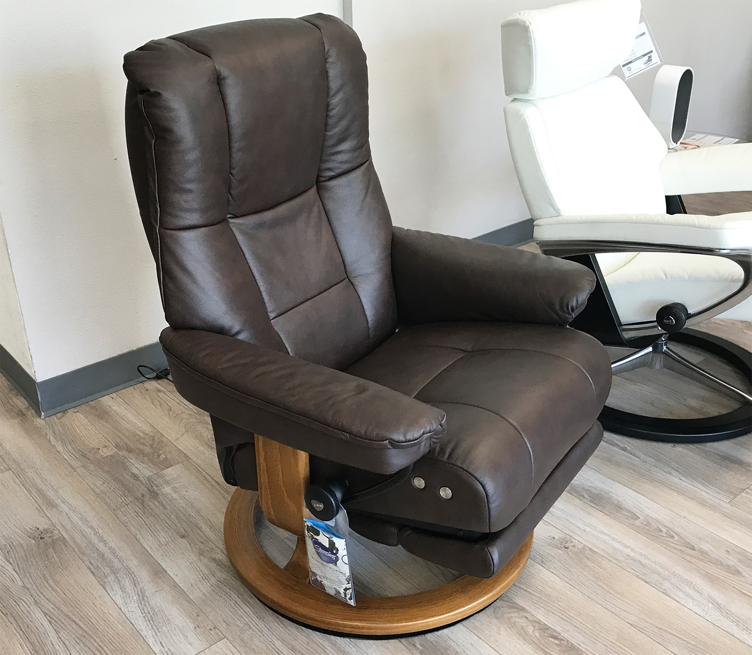 Awesome Real Leather Recliner Chairs Cjindustries Chair Design For Home Cjindustriesco