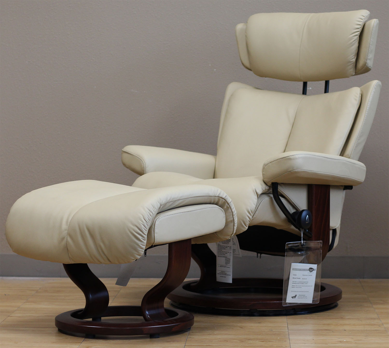 Stressless Magic Paloma Camel Color Leather By Ekornes Stressless Magic Paloma Camel Color