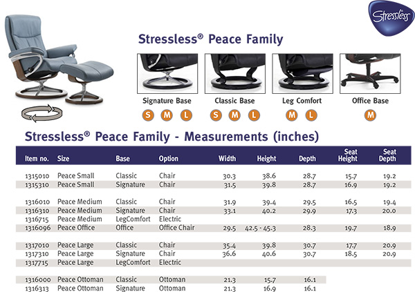 Stressless Peace Recliners Chairs Ekornes Stressless Peace Recliner Chair Lou