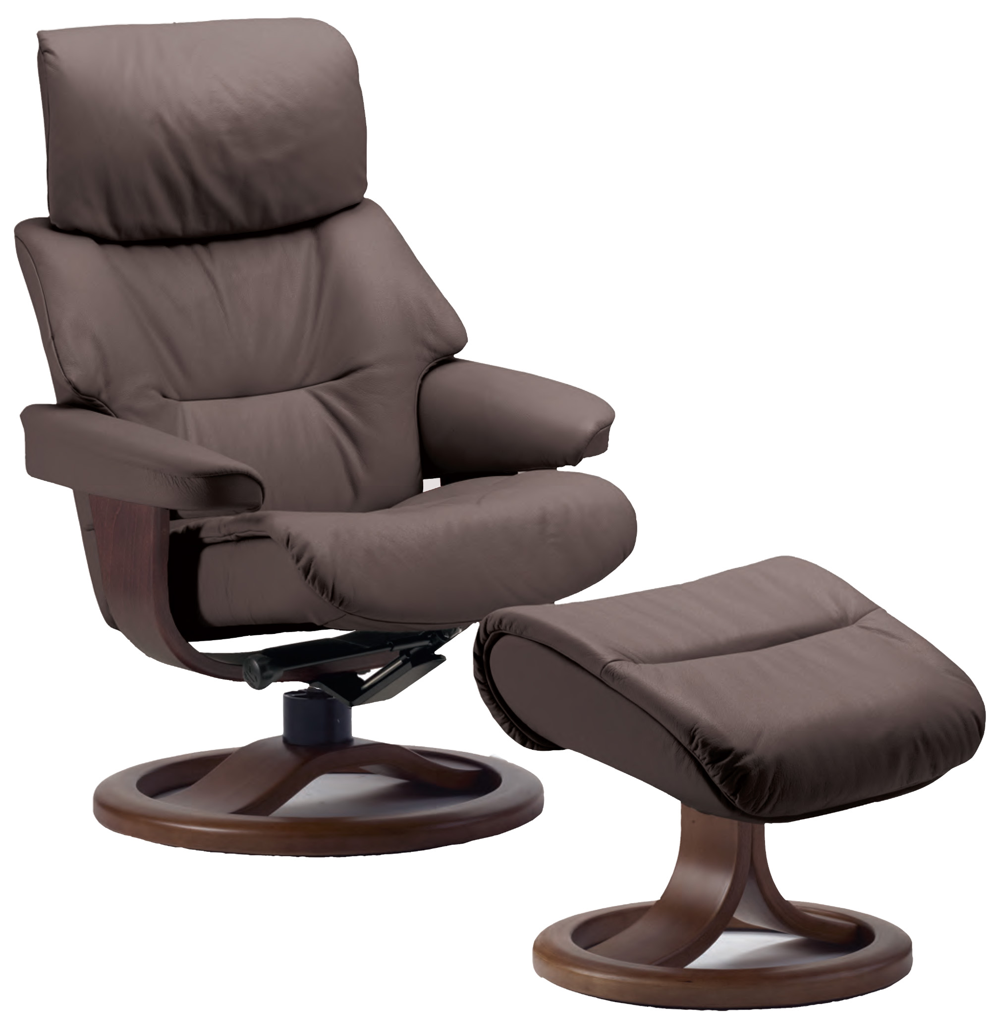 Fjords Grip Leather Recliner Chair