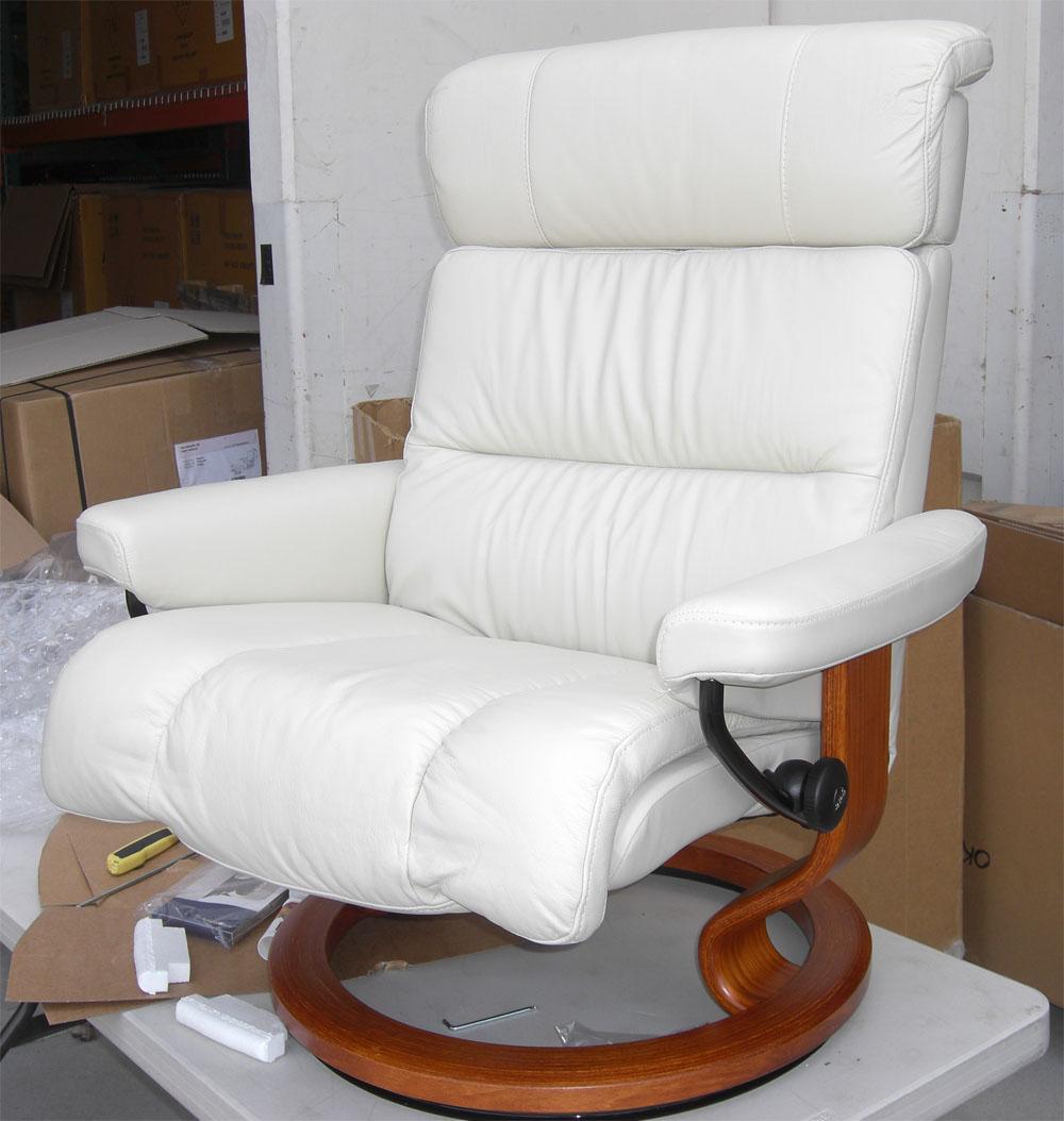 Excellent Stressless Paloma Light Grey Leather By Ekornes Stressless Inzonedesignstudio Interior Chair Design Inzonedesignstudiocom