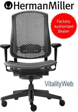 Herman Miller Celle Deluxe + Seat Angle Home Office Task Chair