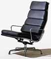 Eames Aluminum Group Soft Pad Chair by Herman Miller