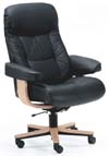 Fjords Leather Muldal Soho Office Desk Chair