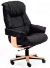 Fjords Loen Leather Soho Office Chair