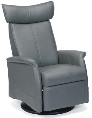Fjords London Ergonomic Swing Zero Gravity Relaxor Recliner Chair Norwegian Scandinavian Lounger