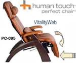 PC-095 Human Touch Perfect Chair Zero Gravity Recliner