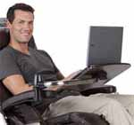 Human Touch Perfect Chair Recliner Laptop Computer Table