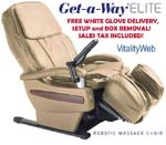RMS-10 Human Touch Massage Chair Recliner