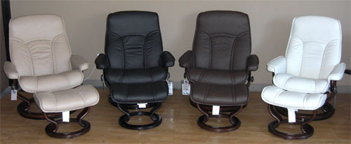 Stressless Senator and Governor Recliner Chair Sale