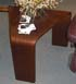 Stressless Corner Table Walnut Wood
