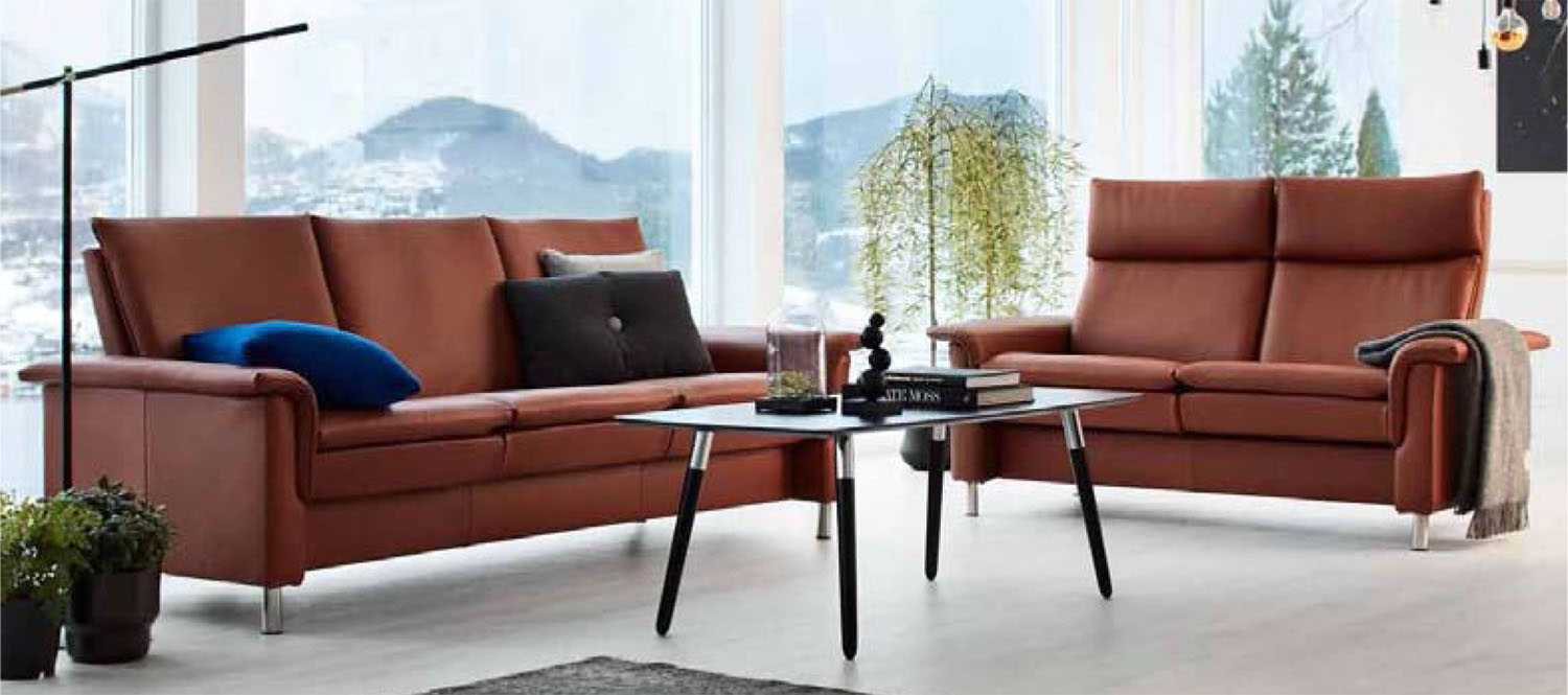 Prime Stressless Aurora Leather Sofa Loveseat Chair Pabps2019 Chair Design Images Pabps2019Com