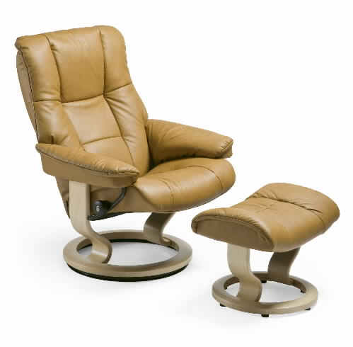 Stressless Paloma Tan 09423 Leather Color Chair from Ekornes