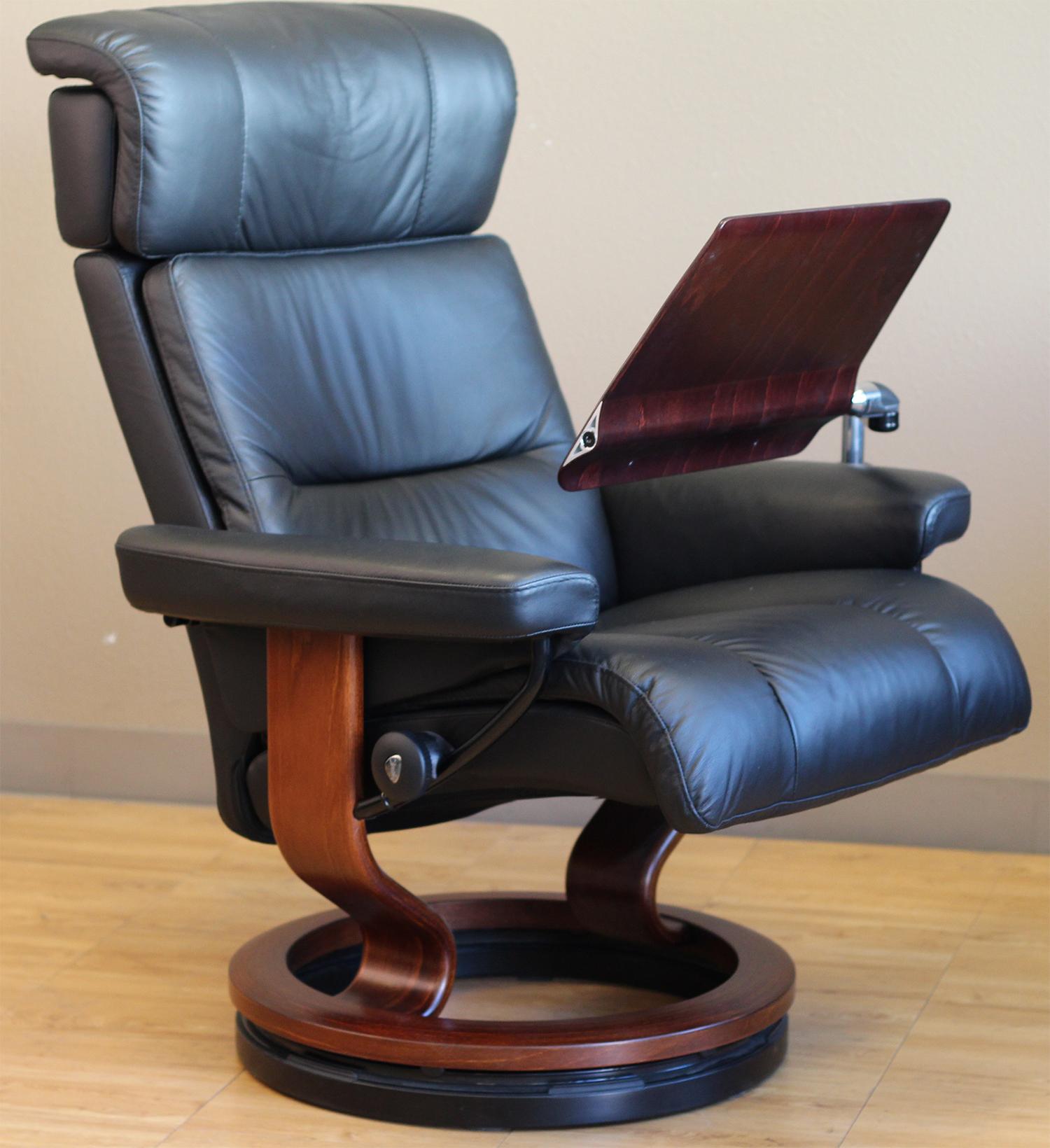 Remarkable Stressless Recliner Chair Elevator Ring Theyellowbook Wood Chair Design Ideas Theyellowbookinfo