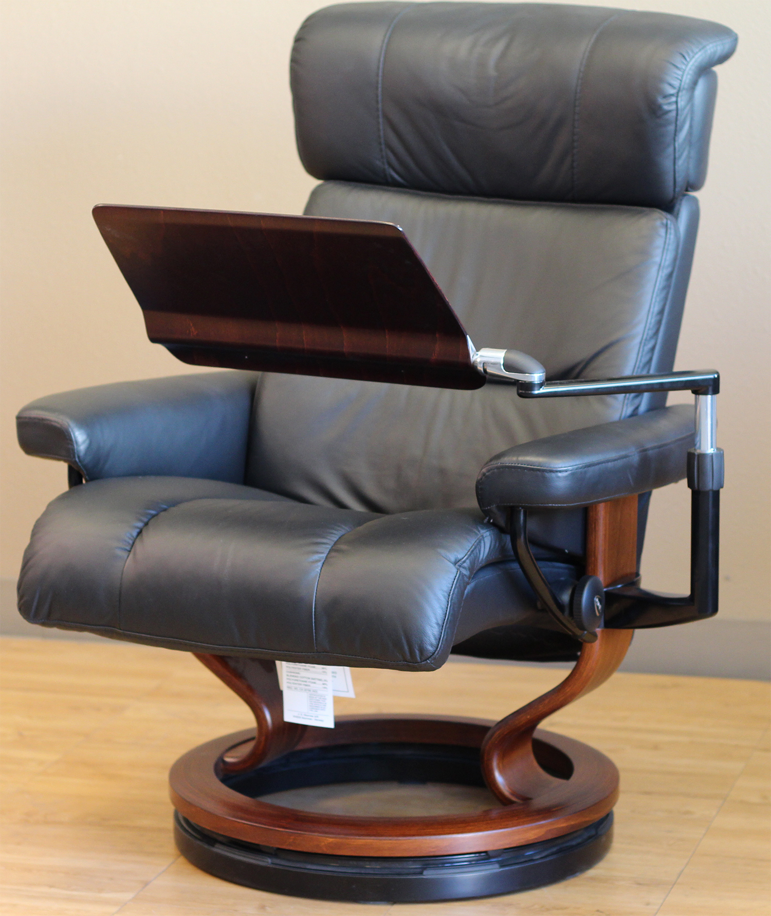 Stressless Personal Computer Table Folding Positions