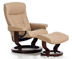 Stressless President Recliner Chair And Ottoman Clearance Specials