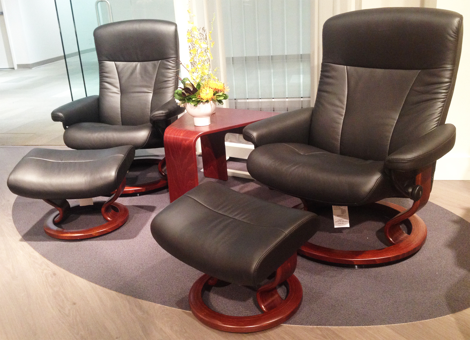 stressless chair prices. Stressless President Recliner Chair And Ottoman Prices U