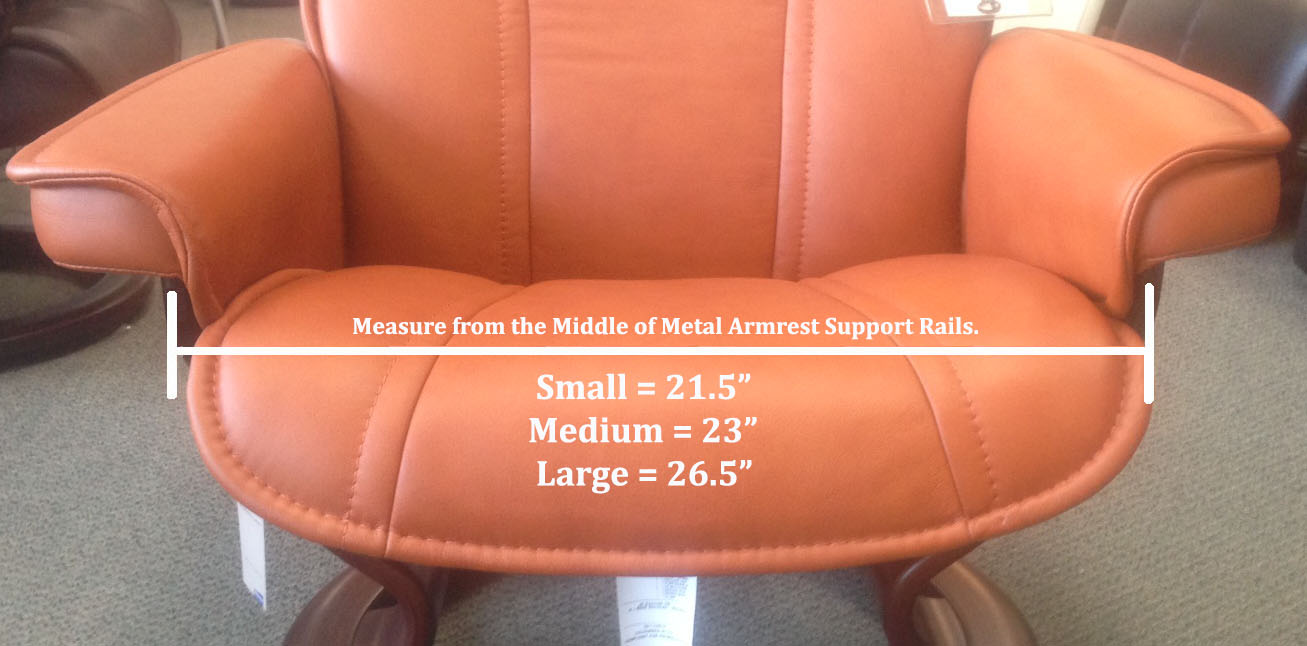 Stressless Recliner Chair Size Guide Measurement How Do I