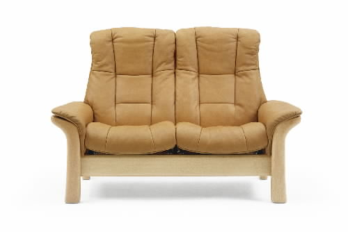Stressless Paloma Tan 09423 Leather Color Sofa from Ekornes