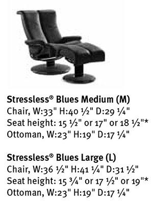 ekornes stressless blues recliner chair lounger ekornes stressless