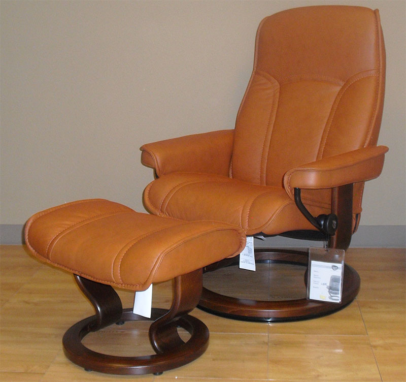 Fantastic Stressless Senator Paloma Brandy Leather By Ekornes Gmtry Best Dining Table And Chair Ideas Images Gmtryco