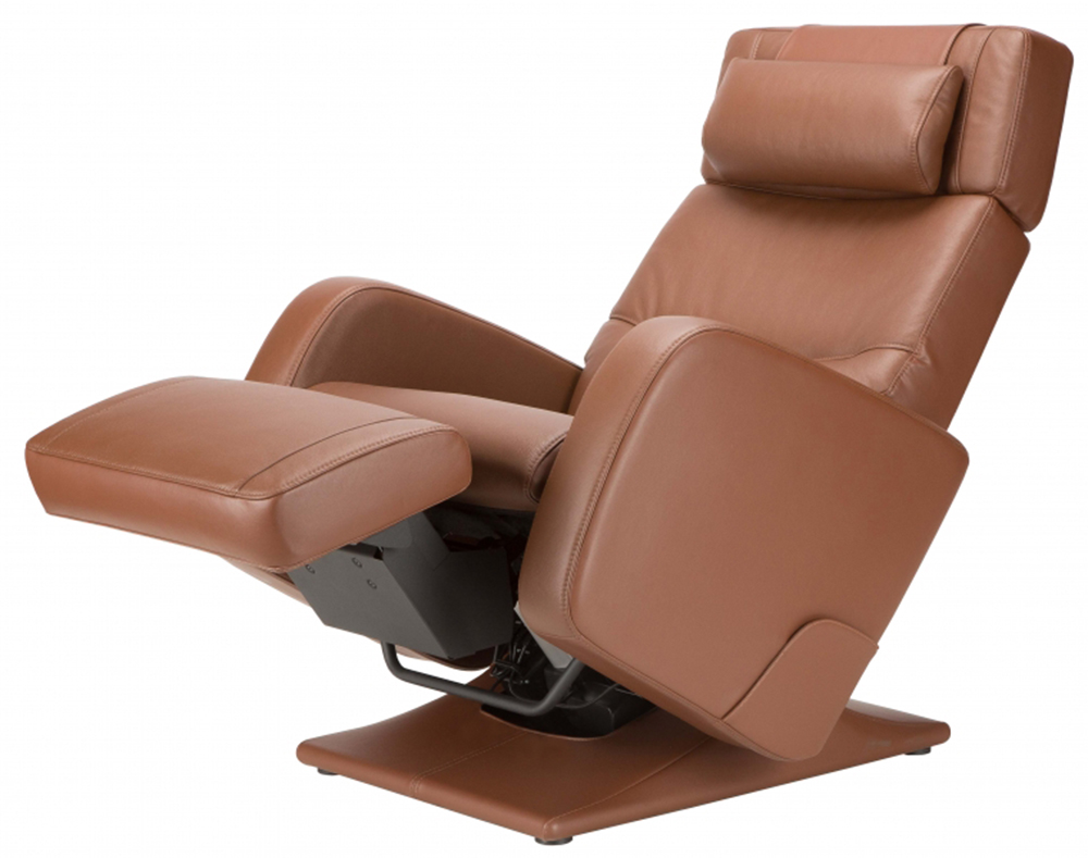 Superieur Barista Chocolate Top Grain Leather Human Touch PC 8500 Zero Gravity  Recliner Chair