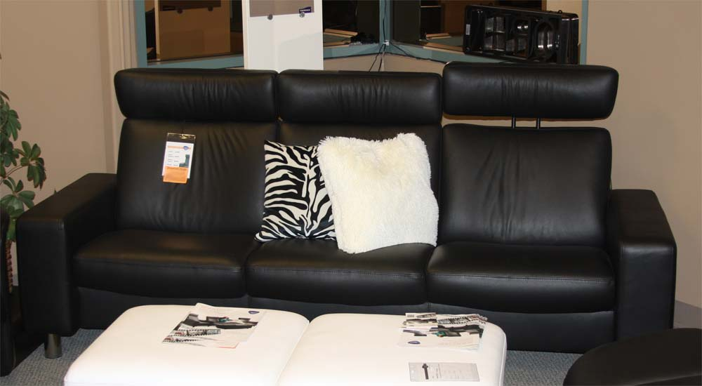 Ekornes Stressless E Low Back Sofa Loveseat Chair And Sectional Sofas Chairs