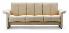 Stressless Soul Low Back Sofa 3 Seat Couch by Ekornes