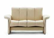 Stressless Soul Low Back Sofa 2 Seat LoveSeat Couch by Ekornes