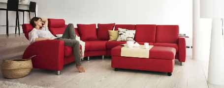 Stressless® Arion High Back Sofa By Ekornes (Medium)