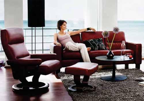 Stupendous Ekornes Stressless Atlantic Pacific Recliner Chair Lounger Creativecarmelina Interior Chair Design Creativecarmelinacom