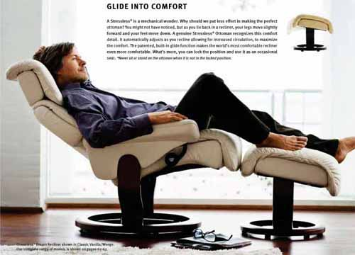 Stressless Vision Relciner Chairs by Ekornes