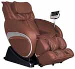 Cozzia Brown 16027 Feel Good Shiatsu Zero Gravity Massage Chair Recliner