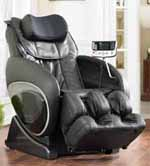Cozzia 16027 Feel Good Shiatsu Zero Gravity Massage Chair Black