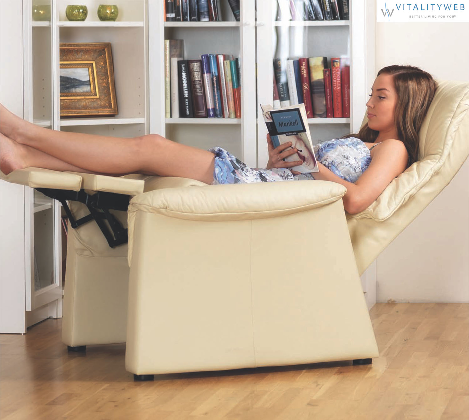 Fjords 855 Urke Ergonomic Swing Zero Gravity Recliner Relaxor Chair Norwegian Scandinavian Lounger