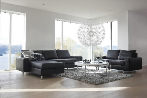E200 Stressless Sofa, LoveSeat, Long Seat and Sectional by Ekornes