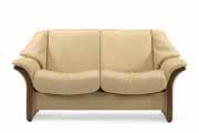 Stressless Eldorado 2 Seat LoveSeat Low Back Sofa by Ekornes