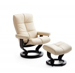 Stressless Medium Oxford Recliners Chairs Stressless Oxford Medium Recliner by Ekornes