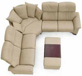 Paradise Stressless 6 Seat Sofa and Sectionals from Ekornes Furniture